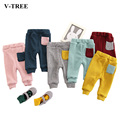 Plus Velvet Winter Baby Leggings For Girls Baby Boy Pants Spring Newborn Baby Trousers Baby Girl Clothes Trousers For Children