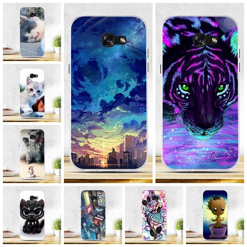 For Samsung A5 2017 Case Soft Silicon TPU Phone Case for Samsung Galaxy A5 2017 SM-A520F Cover Fundas for Samsung Galaxy A5 2017