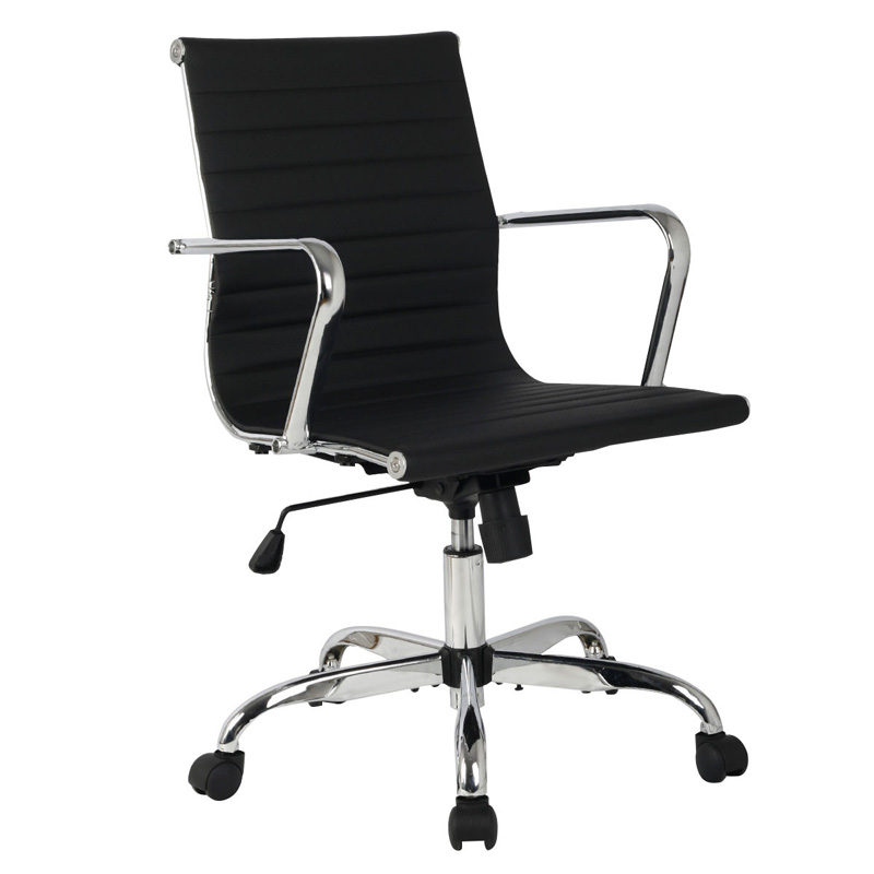 GIANTEX Adjustable Faux Leather Ergonomic Office Chair Executive Chair Boss Lift Chair Swivel Chair Office Furniture HW51439 giantex modern ergonomic mesh adjustable office chair executive chair boss lift chair swivel chair office furniture hw51437
