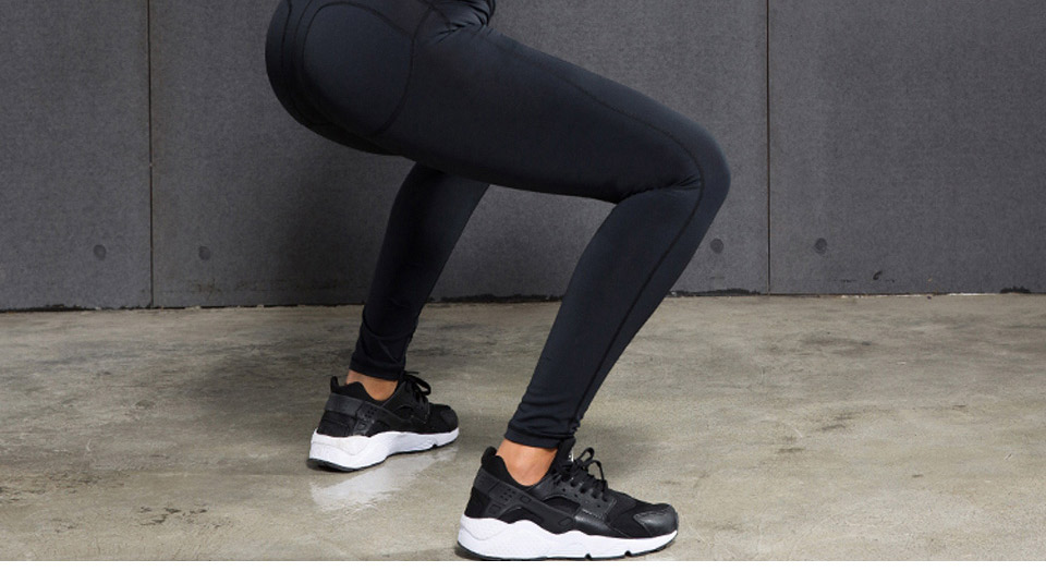VANSYDICAL Sport Pants Sale For Women Elastic Tights Female Sexy Pant Yoga Gym Fitness Running Trousers Slim Leggings 36