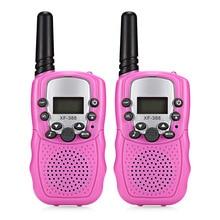 2018 радионяня XF-388 2 шт детская рация 2-полосная Радио 3 км Диапазон 8 каналов с регулируемыми уровнями громкости