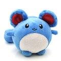 2016 Juguete de Peluche 11 cm Pocket Monster Pokeball Tomy Marill Felpa juguete Suave Animal de Peluche Regalo de La Muñeca Juguetes para Niños Gratis gratis