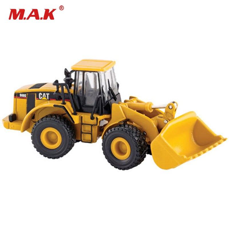 Mini Diecast Excavator Model 966G Series Wheel Loder Bulldozer 1/87 Engineering Vehicles
