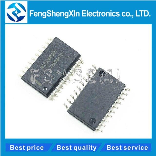 10 ชิ้น/ล็อต MC33883 MC33883DW MCZ33883EG SOP20 H   Bridge Gate Driver IC