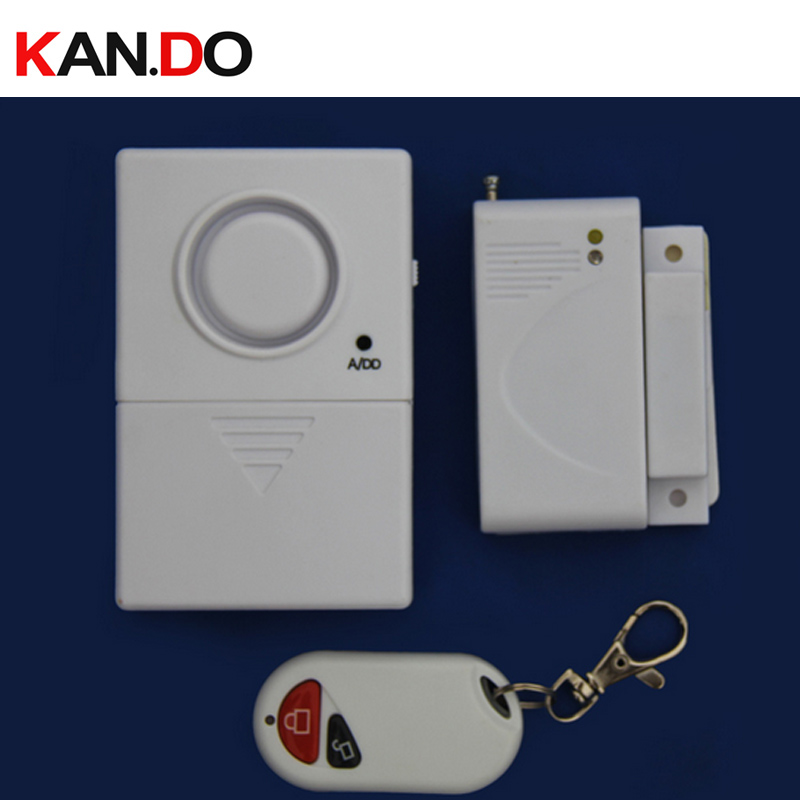 door sensor burglar alarm,remote control function wireless door magnetic sensor anti-theft alarm wireless sensor alarm