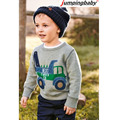 Boys Designer Kids Brand Cartoon Boys T-Shirt Spring Autumn Baby Boy Clothes Cute Long Sleeve Boys Tshirts