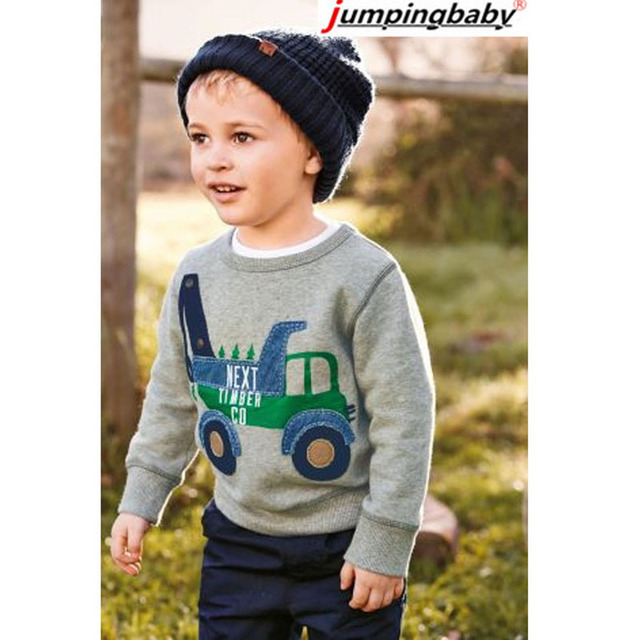 Meninos Designer marca crianças meninos desenhos animados T - camisa primavera outono bebê menino roupas bonito meninos de manga longa camisetas