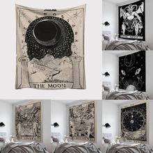 Новые карты Таро гобелен настенный светильник Астрология divination покрывало пляжный коврик художественный Декор Бросок Настенный декор