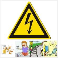 Предупреждение 25 мм 50 мм 100 мм электрические ударные предупреждающие наклейки опасности Предупреждение безопасности электрическая дуга