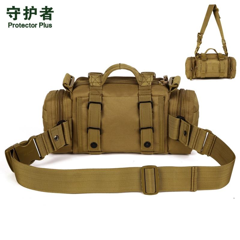 Protector Plus Y108 Açıq İdman Çantası Kamuflyaj Neylon Taktik - İdman çantaları - Fotoqrafiya 6