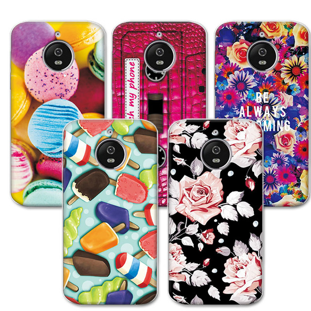 huge selection of 6bd2e ef97c US $1.04 40% OFF|Adlikeme Lovely Fashion Painted Phone Cases For Moto E 4  Plus Case Cover Soft Tpu Fundas For Motorola Moto E4 Plus 5.5