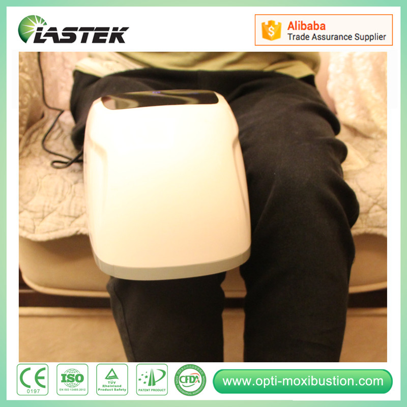 LLLT laser pain relief instrument heated knee massager for home use knee pain when bending knee personal massager laser pain relief pads knee
