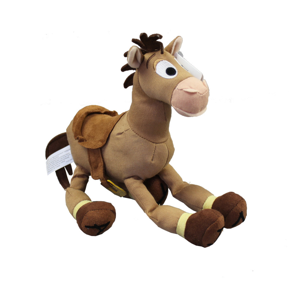 Toy Story Exclusive 9 Pollice Mini Peluche Bullseye Il Cavallo 20 cm