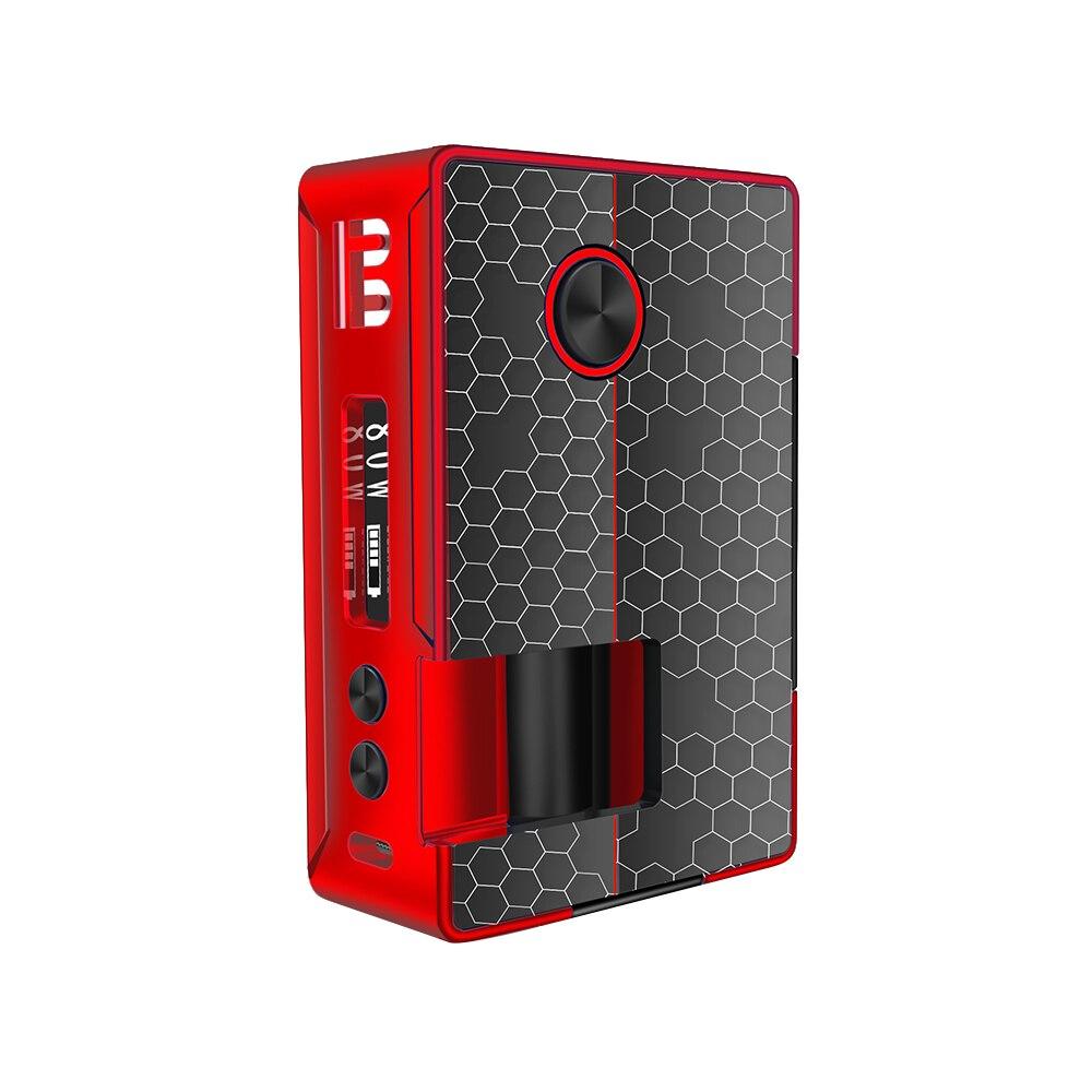 Blitz Vigor 81W TC Squonk MOD avec bouteille en Silicone 10ml et 0.91 pouce OLED écran puissance par 18650/20700 boîtier de batterie mod vs RSQ Mod - 6