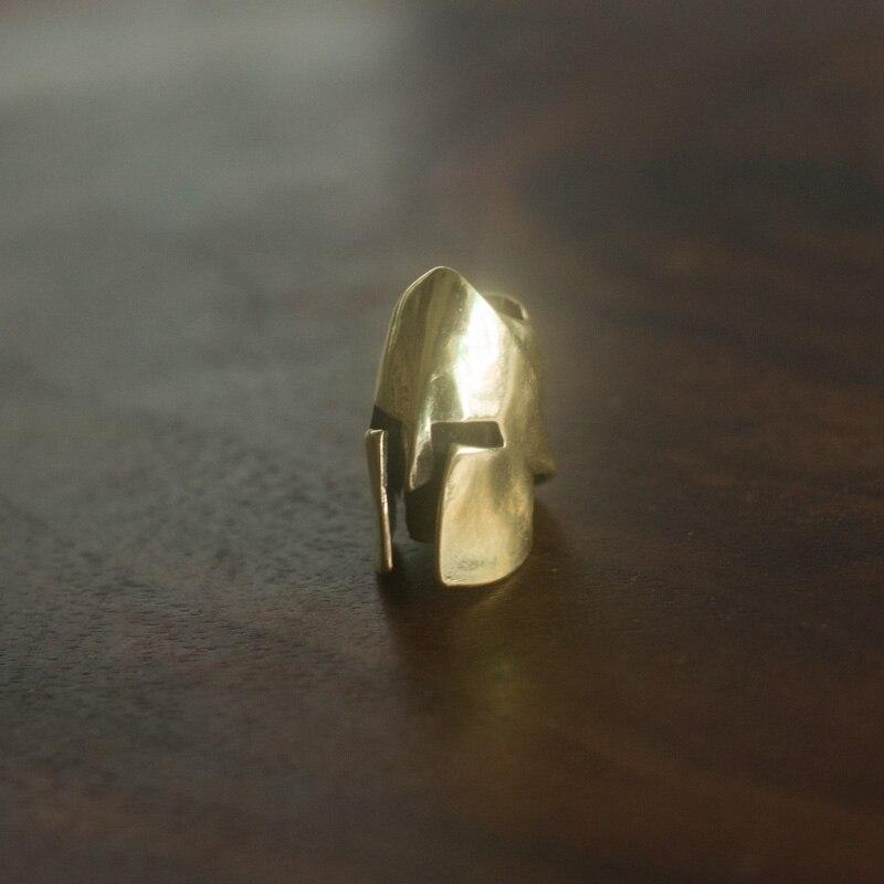 Spartan Brass Knife Beads Pendant Rope Copper Knife Fall Rope Outdoors Knife EDC Knife Pendant Brass Pendant Multi Tools EDC