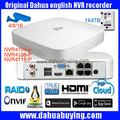 Оригинальный английский ONVIF Dahua логотип NVR 4CH NVR4104-P NVR4108-P 1080 P H.264 8-канальный сетевой видеорегистратор DH-NVR4104-P DH-NVR4108-P