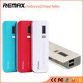 REMAX Proda Portable Power Bank 10000MAH Dual USB LCD Powerbank External Mobile Battery Charger carregador portatil para celular