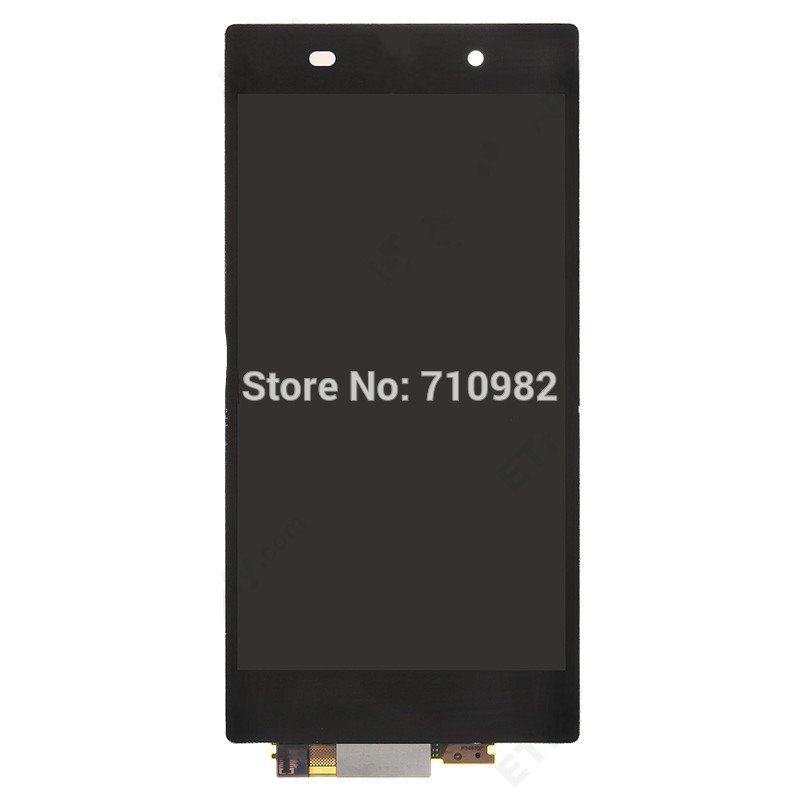 HK Free shipping For Sony Xperia Z1 L39h LCD Assembly with Touch Screen Digitizer
