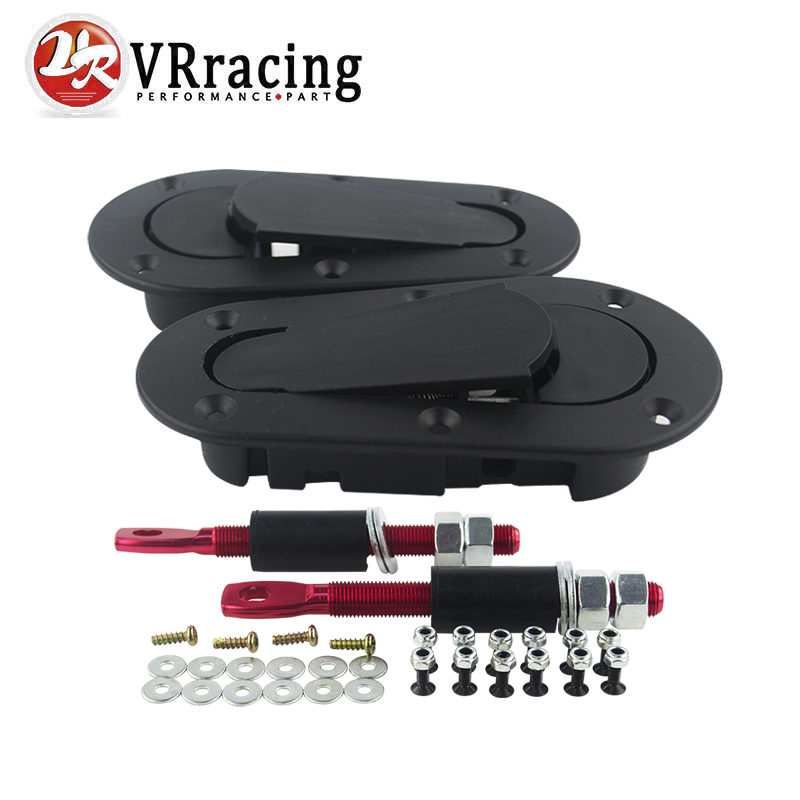 VR RACING - D1 Generation Bonnet Pins Plus Flush Kit Hood Pin Plastic Without Lock VR-BPK-D11