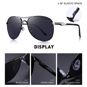 Image 2 - MERRYS DESIGN Men Classic Pilot Sunglasses Mens HD Polarized Sun glasses For Driving Luxury Shades UV400 Protection S8712