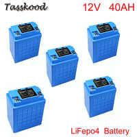 Wiederaufladbare lithium-eisen phosphat tiefe zyklus batterie 12v 40ah LiFePO4 für solar straße licht