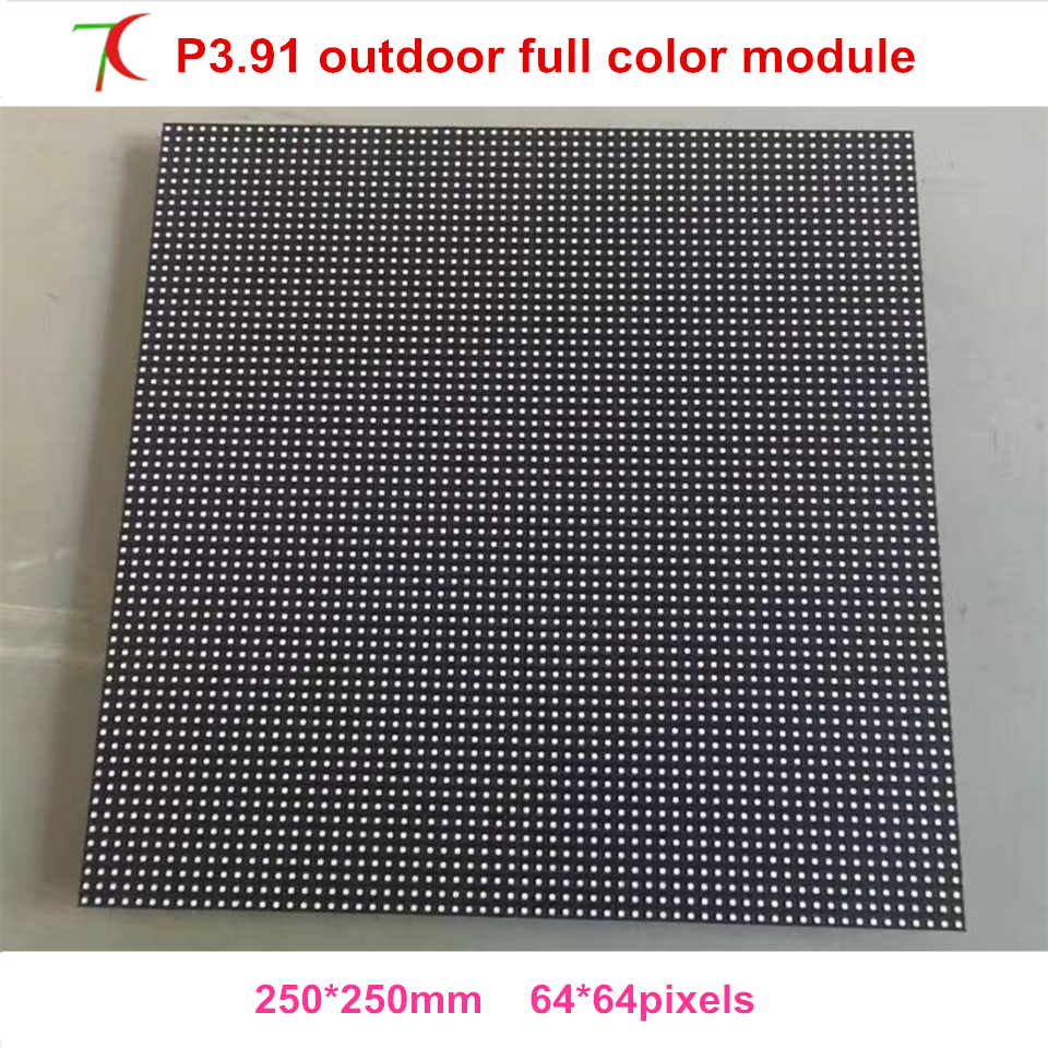SMD P3.91 Led Display Screen Renting Stage Full Color Display Screen  Led Module