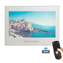 Souria Фирменная Новинка 27 дюймов IP66 Ванная комната Умные телевизоры Android зеркало телевидение WI-FI Full-HD 1080 P