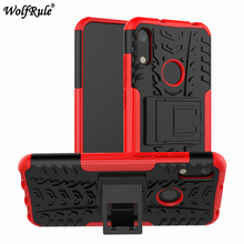 Case For Huawei Y6 2019 Case Honor 8A Pro Dual Layer Armor Shells TPU+PC Shockproof Cover For Huawei Honor 8A Pro JAT-L41 Y62019 for huawei honor 8a pro case flip wallet business leather coque phone case for honor 8a pro jat l41 cover fundas accessories