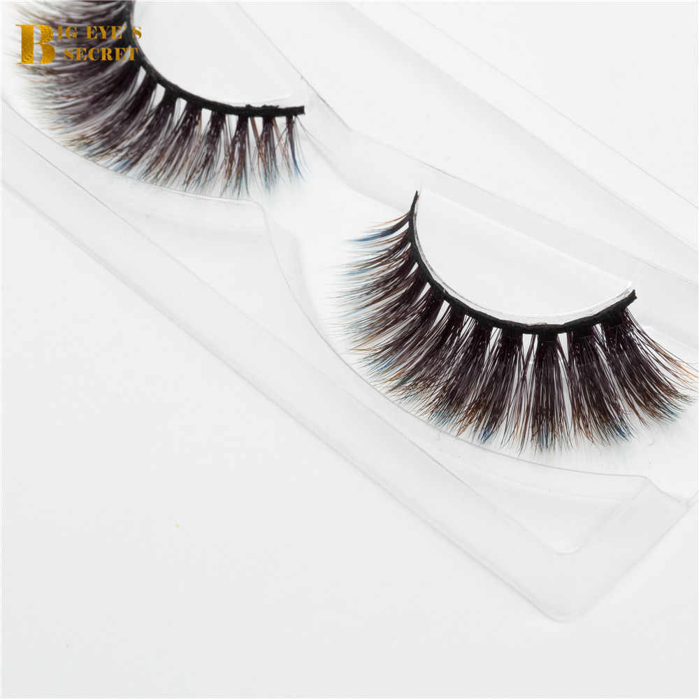 22f4046793c ... New Fashional Colorful 3D strip lashes Faux Mink Eyelash Extension Low price  wholesale price 3d mink ...