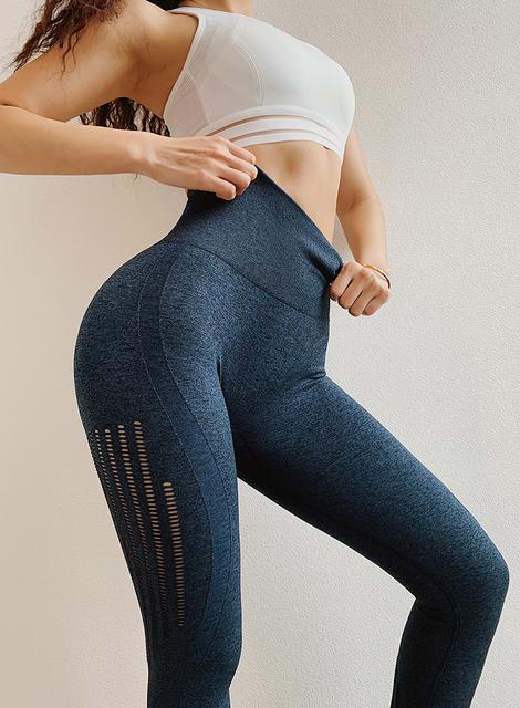 Women's High-Waisted Seamless Leggings