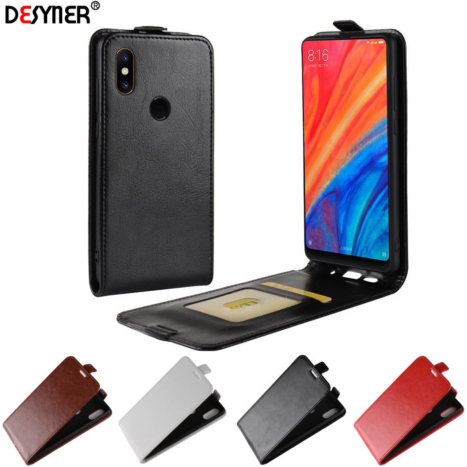 High Quality Litchi Pattern Stand Wallet PU Leather Case For Xiaomi Mi Mix 2S Mobile Phone Shell For Xiaomi MI Mix 2S Cover