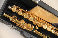 High Quality YFL 994 CN Flute Gold With Case Golden 120216