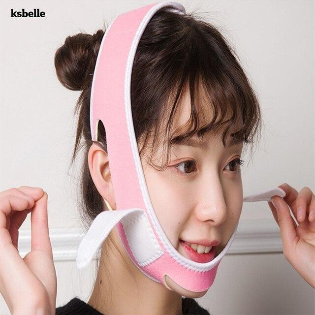 Face Slim V-Line Lift Up Cheek Chin Neck Slimming Thin Belt Strap Beauty Delicate Physical Facial Lifting Tool Slimming Bandage 2