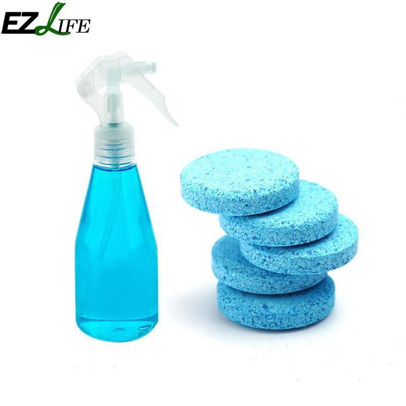 20/50/100 piezas multifuncional tableta efervescente Spray inicio cocina limpieza vidrio del parabrisas del coche lavadora detergente