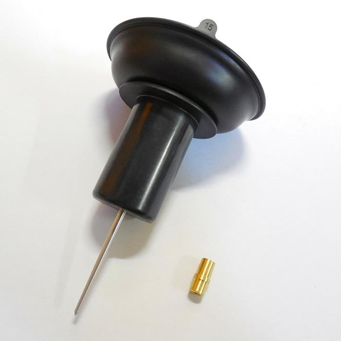 24MM Keihin karbüratör vakuum diafraqma plunger HMHonda motosiklet GY6-125 / 150CC PD24 26J plastik istehsal geyən
