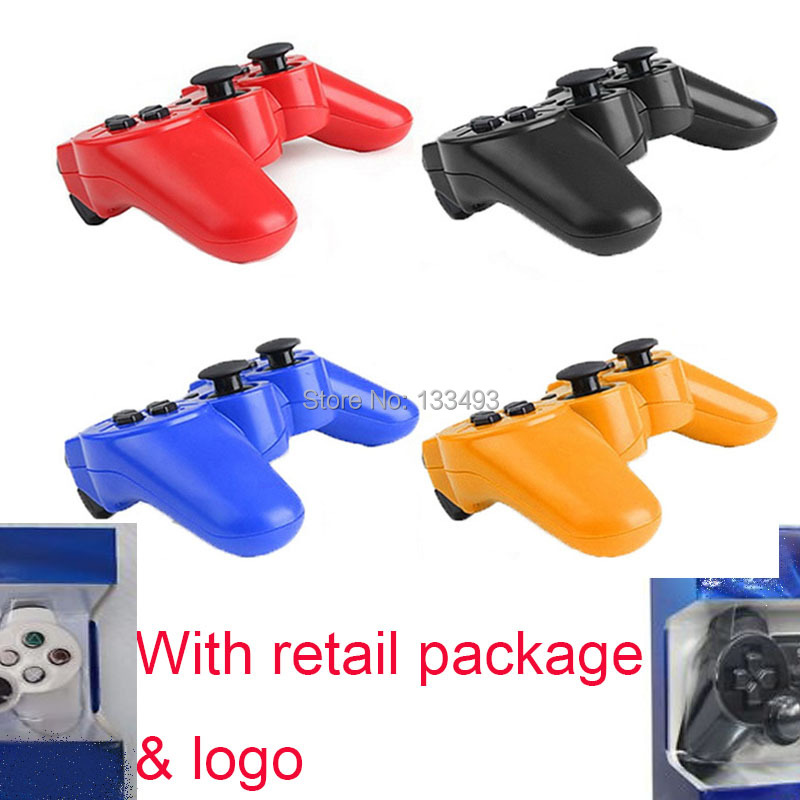 2pcs/lot Original Joystick Sixaxis Double Wireless Controller For Sony