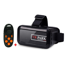 Hot sale! VR PARK Virtual Reality 3D Glasses Helmet Movie Game for 4.0-6.0 Inch Phone+ Bluetooth Remote Control