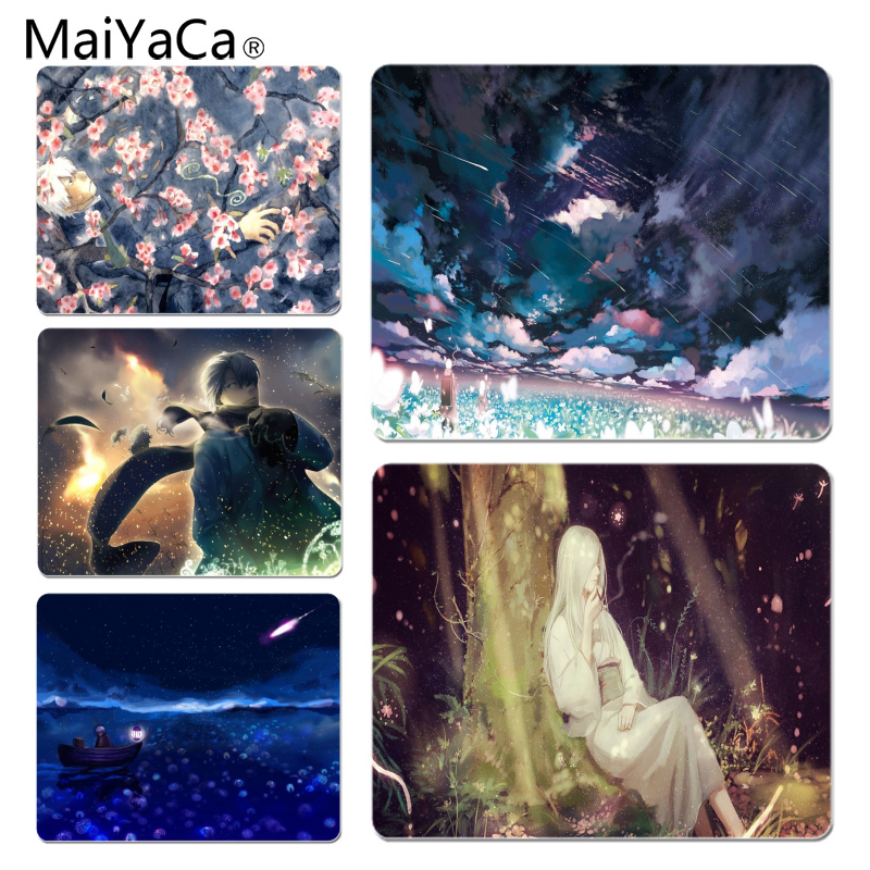 MaiYaCa Personalized Cool Fashion Mushishi High Speed New Mousepad Size for 180x220x2mm and 250x290x2mm Small Mousepad