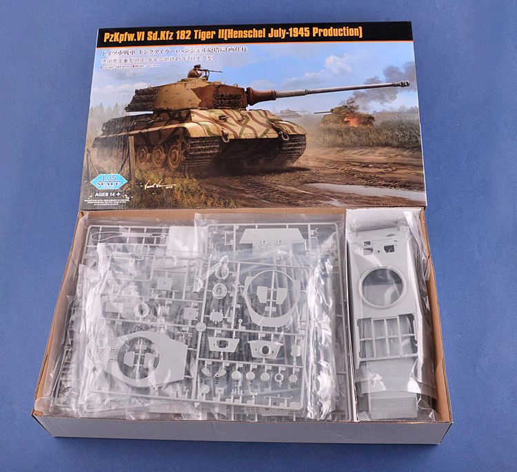 1/35 German Sd.kfz Tiger King Heavy Tank Henschel Turret 84533