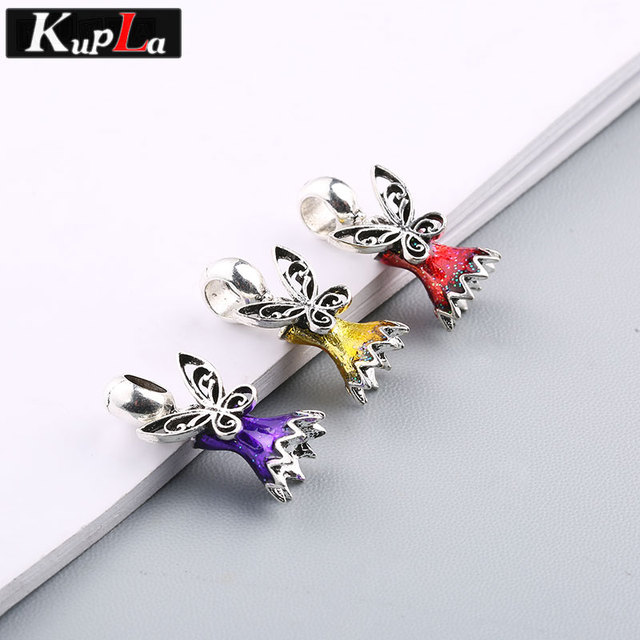 Aliexpress.com : Buy Kupla Color Angel Beads for Pandora Charms DIY ...