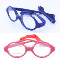 Les ventes au détail 3543700 enfants environnement TR90 sécurité pliable prescription de lunettes cadres avec sangle réglable livraison gratuite