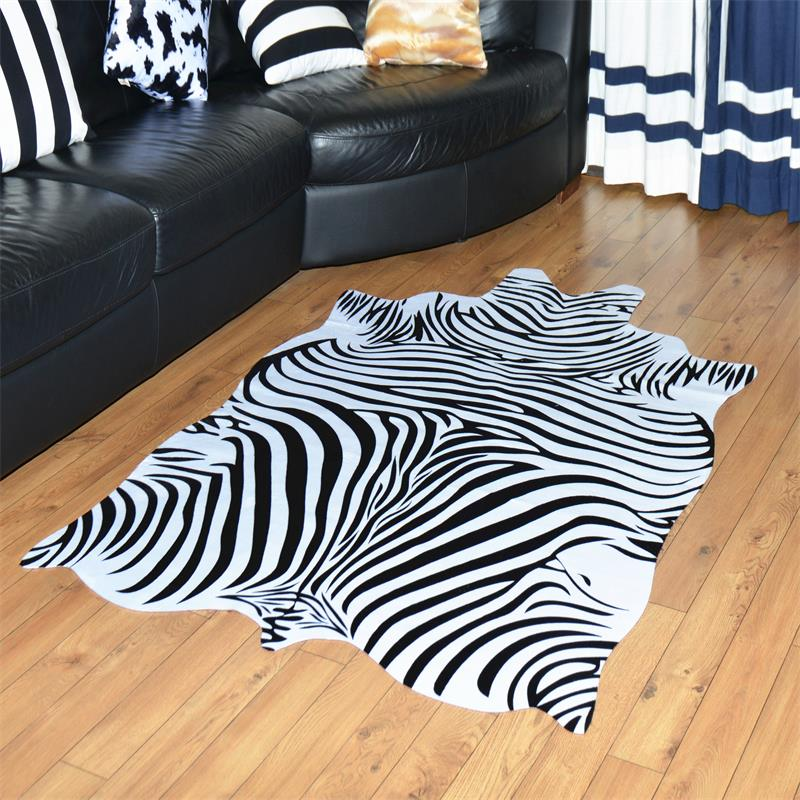 140X200 CM Imitation zèbre veines tapis pour salon maison peau tapis pour chambre Table basse tapis de sol étude/salle à manger tapis