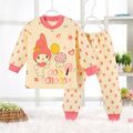 Children's pajama sets boy winter pyjamas kids pajamas girl Thickening Three warm children 's home service  20#