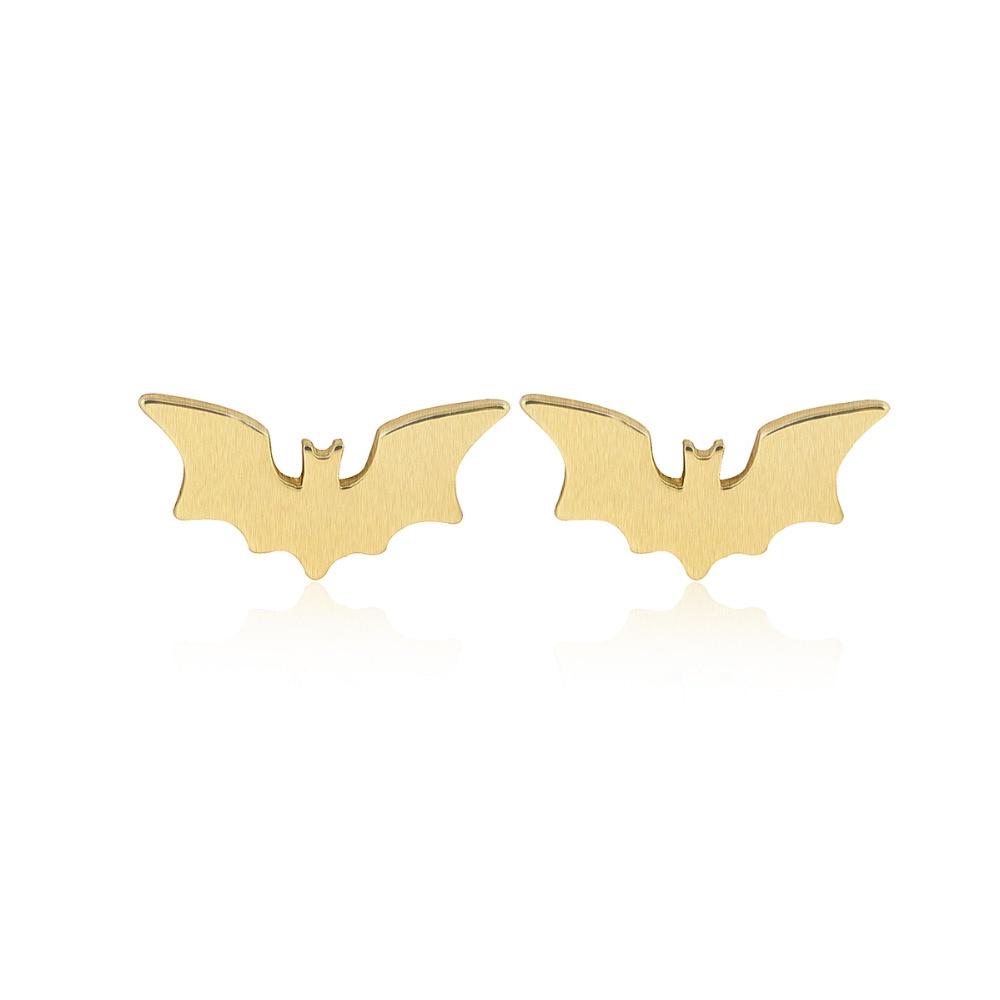 SMJEL New Fashion Hollow Bat Stud საყურეები - მოდის სამკაულები - ფოტო 2