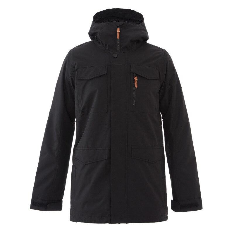 GSOUSNOW уличная зимняя куртка для мужчин 2018 новый стиль непромокаемые теплые и непромокаемые лыжный костюм