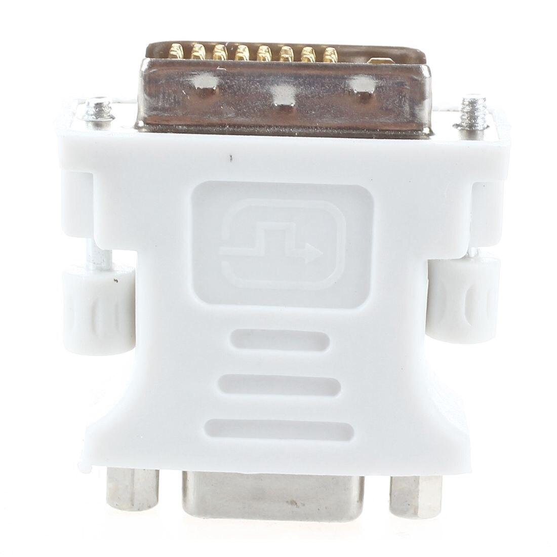 New DVI male adapter (DVI - D 24 1) to female VGA (15-pin) new dvi male adapter dvi d 24 1 to female vga 15 pin