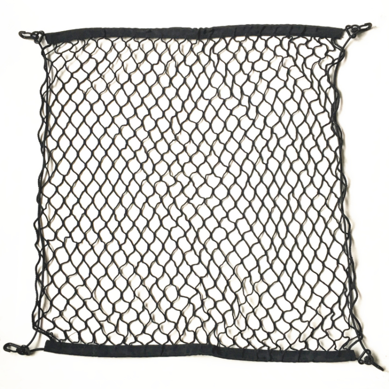 4 HooK Car Trunk Cargo Mesh Net Luggage For Volkswagen VW Golf 4 5 6 7 MK4 MK5 MK6 MK7 GTI R Tiguan Jetta MK4 MK5 MK6 наклейки hong 50 5 8 4 vw golf mk7 stikers