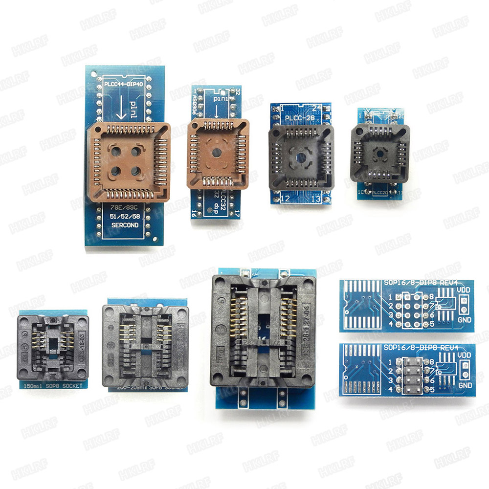 Image 5 - XGECU Best quality TL866ii Plus Programmer +12 Items Support MCU AVR EEPROM EPROM 27 28 29 37 39 49 50 Series chips-in Integrated Circuits from Electronic Components & Supplies