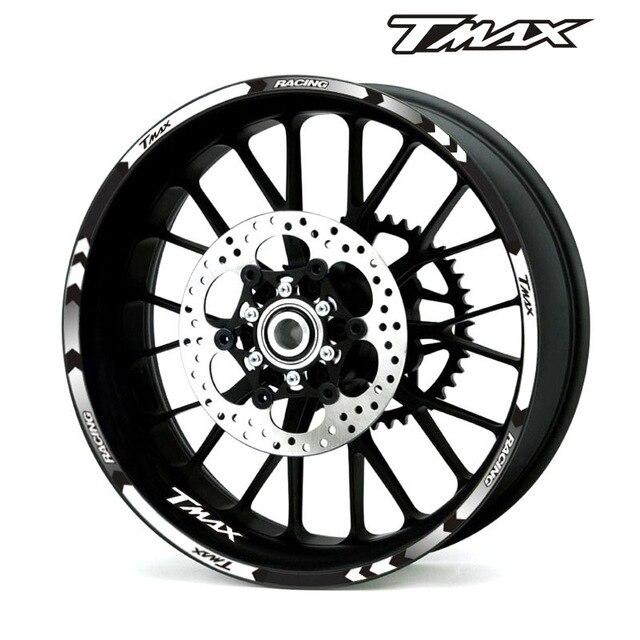 Kit déco Cooper Kutvek Autocollant  blanc//bleu Yamaha T-Max TMAX 500 2008-2011