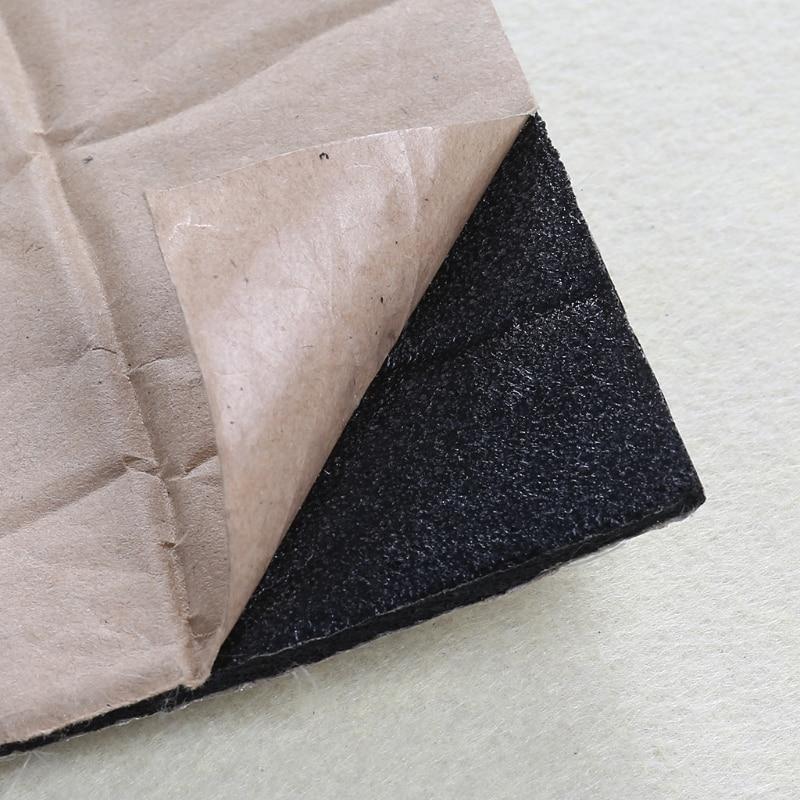 140x100cm Car Hood Engine Firewall Heat Mat Deadener Sound Insulation Deadening Material Interior Sound Heat Insulation Cotton